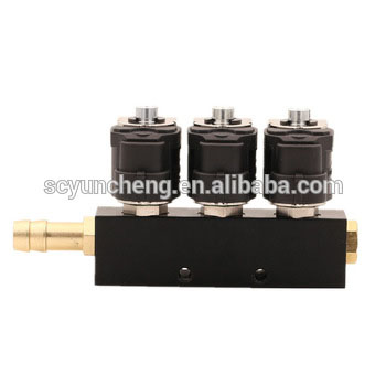 China Supplier 6 cylinder gas kits lpg injectors