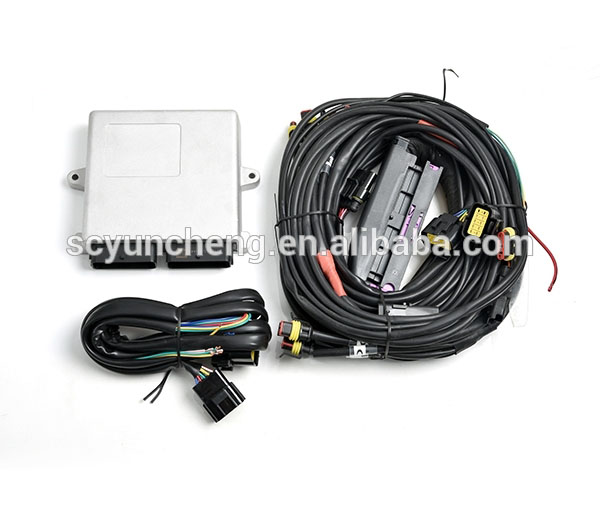 YUNCHENG cng lpg 2568 ecu kit for auto conversion kit 8cyl